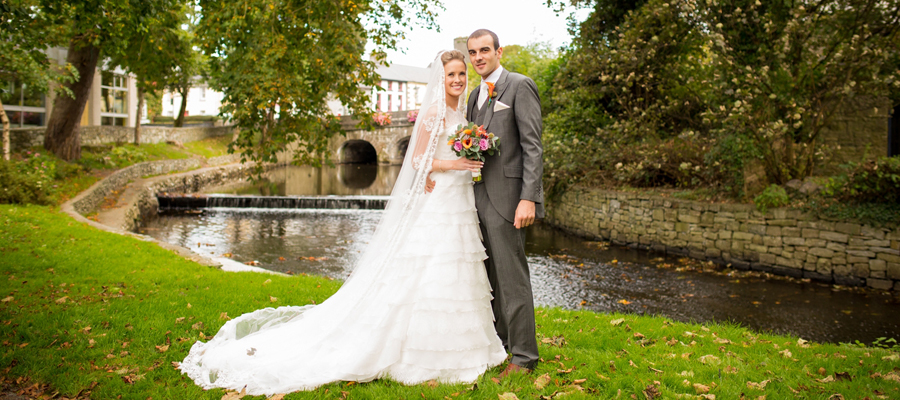 Wedding Venues Mayo at Knockranny House Hotel with Wedding Couple