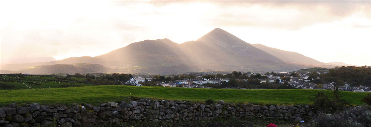Croagh Patrick from Knockranny