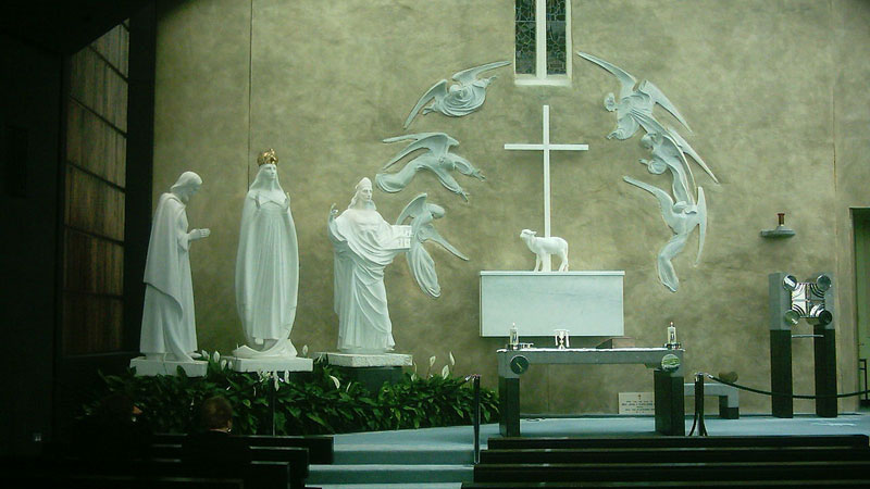 'Knock shrine