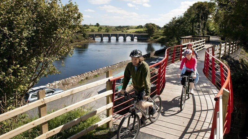 Cycle the Greenway - 2BB + 1D with bike hire
